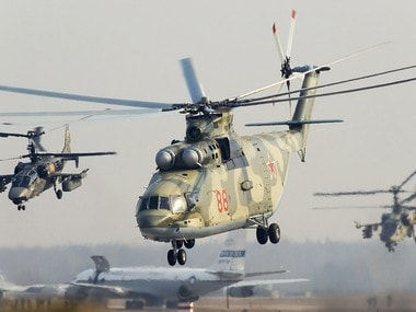 File image of Mi26 helicopter. Image courtesy: Russian Helicopters