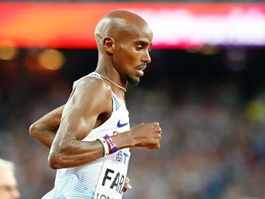 File image of Britain's Mo Farah. Reuters