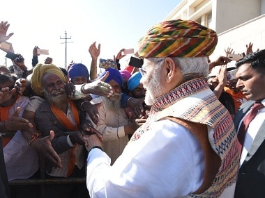 Gujarat my atma, India paramatma: Narendra Modi strikes emotional chord in land where he built his political mojo