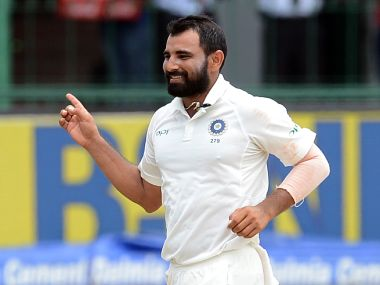 File image of Mohammed Shami. AFP