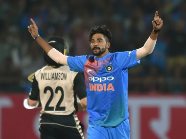 Jasprit Bumrah says Mohammed Siraj will learn from his experience in an Indian shirt. AFP
