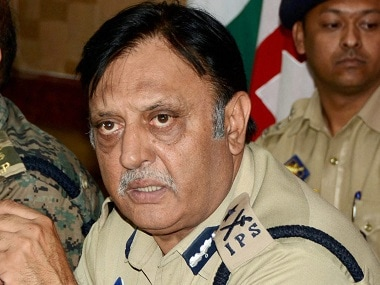 File image of Jammu and Kashmir IG Muneer Khan. PTI