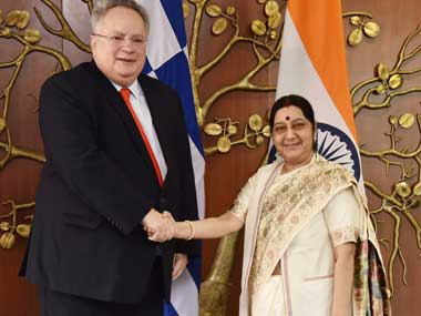 Greece extends support for Indias UNSC bid, inks pact for direct flight service between nations