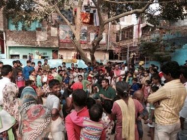 A nukkad natak being performed in a Delhi slum. Pallavi Rebbapragada/Firstpost