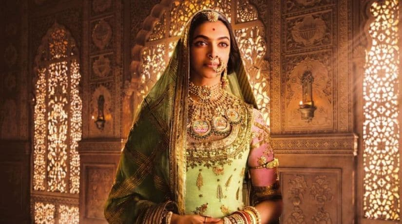 Deepika Padukone in a still from Padmavati.