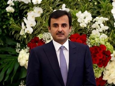 File image of Qatar's Emir Sheikh Tamim bin Hamad al-Thani. Reuters