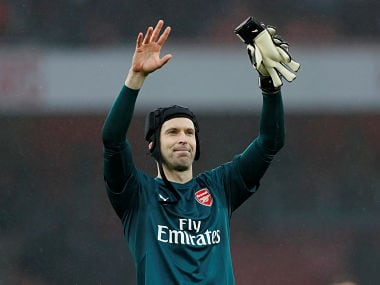 Premier League: Arsenals Petr Cech believes club can pip Manchester City to title