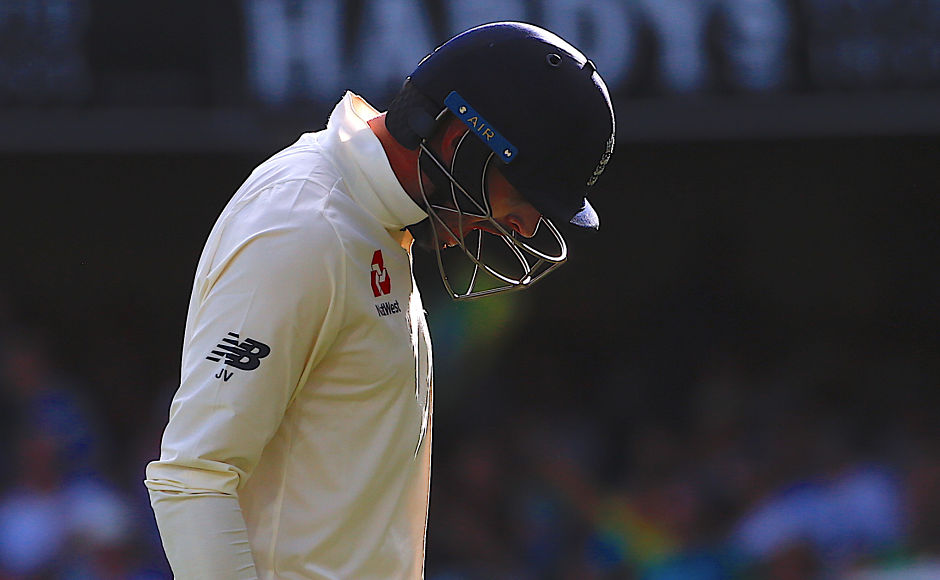 Vince was 17 runs short of his first Test ton and wasvisibly upset about missing it. Reuters