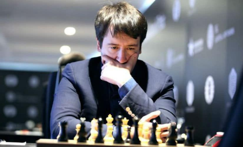 Teimur Radjabov suffered a shocking loss to Evgeny Tomashevsky because of pushing too hard for a win. FIDE