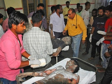 The Injured are recuperating in hospitals in Raebareli and Lucknow. AP