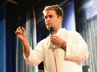 File image of Congress vice-president Rahul Gandhi. Twitter @OfficeofRG
