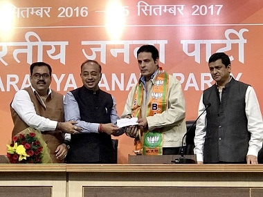 Rahul Roy joins BJP. Twitter @VijayGoelBJP