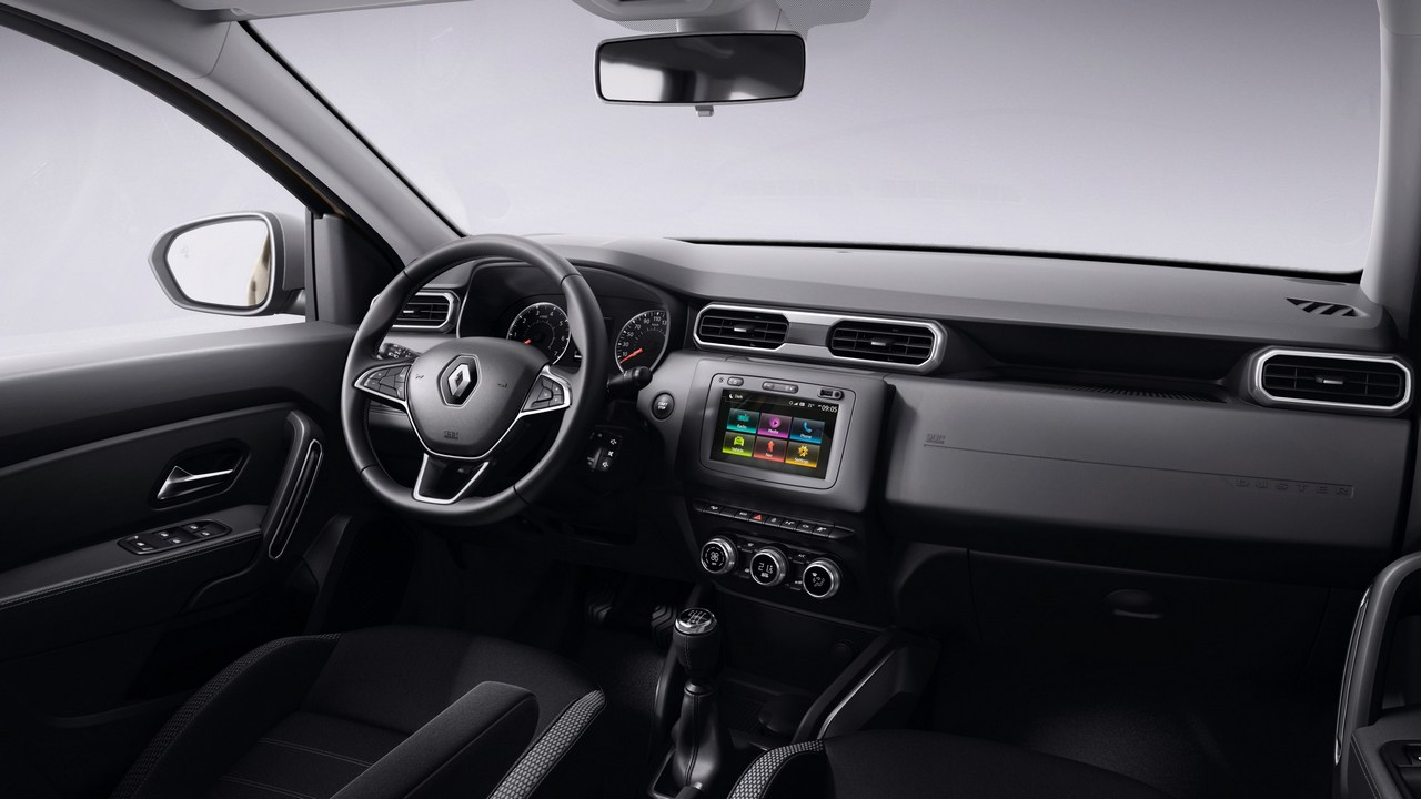 A view of the interiors of the 2017 Nouveau Renault Duster. Image: Renault
