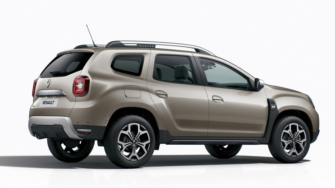 Rear view of the 2017 Nouveau Renault Duster. Image: Renault