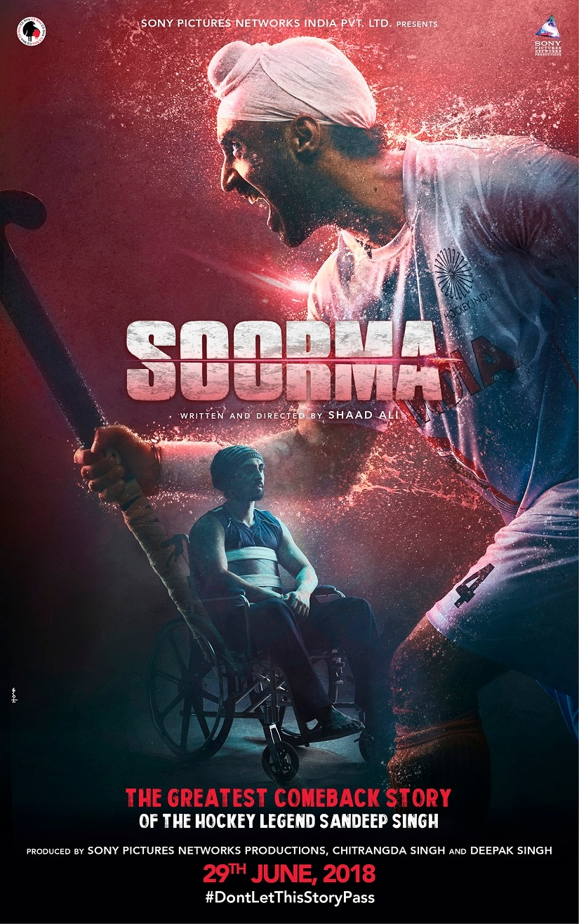 Diljit Dosanjh-starrer Soorma will now release on 13 July to avoid competition with Rajkumar Hiranis Sanju