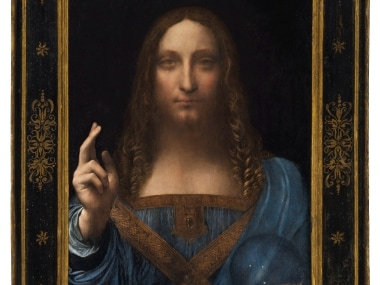 Salvator Mundi by Leonardo da Vinci. Reuters