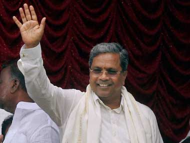 File image of Siddaramaiah. PTI