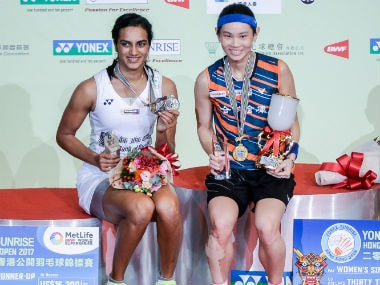 Hong Kong Open Superseries: PV Sindhu claims silver after loss to defending champion Tai Tzu Ying