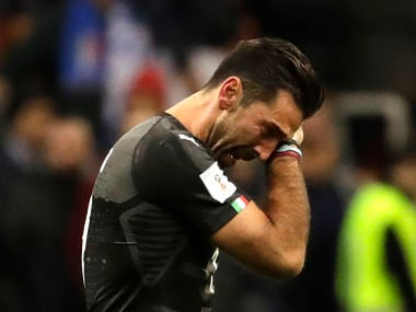 Italian legend Gianluigi Buffons 20-year stellar international career ends in tears