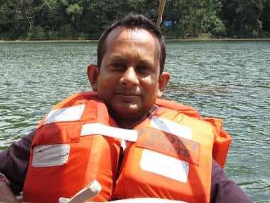 journalist Sudip Datta Bhaumick, shot dead allegedly by a jawan. (Picture courtesy: Facebook.com/Sudip Datta Bhaumick)