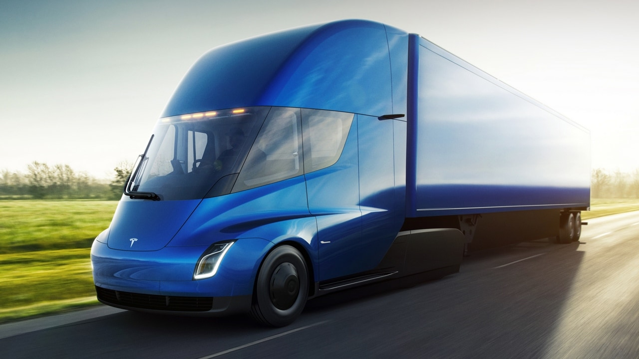While fully loaded, the Tesla Semi consumes less than two kilowatt-hours of energy per mile and is capable of 500 miles of range at Gross Vehicle Weight and highway speed.