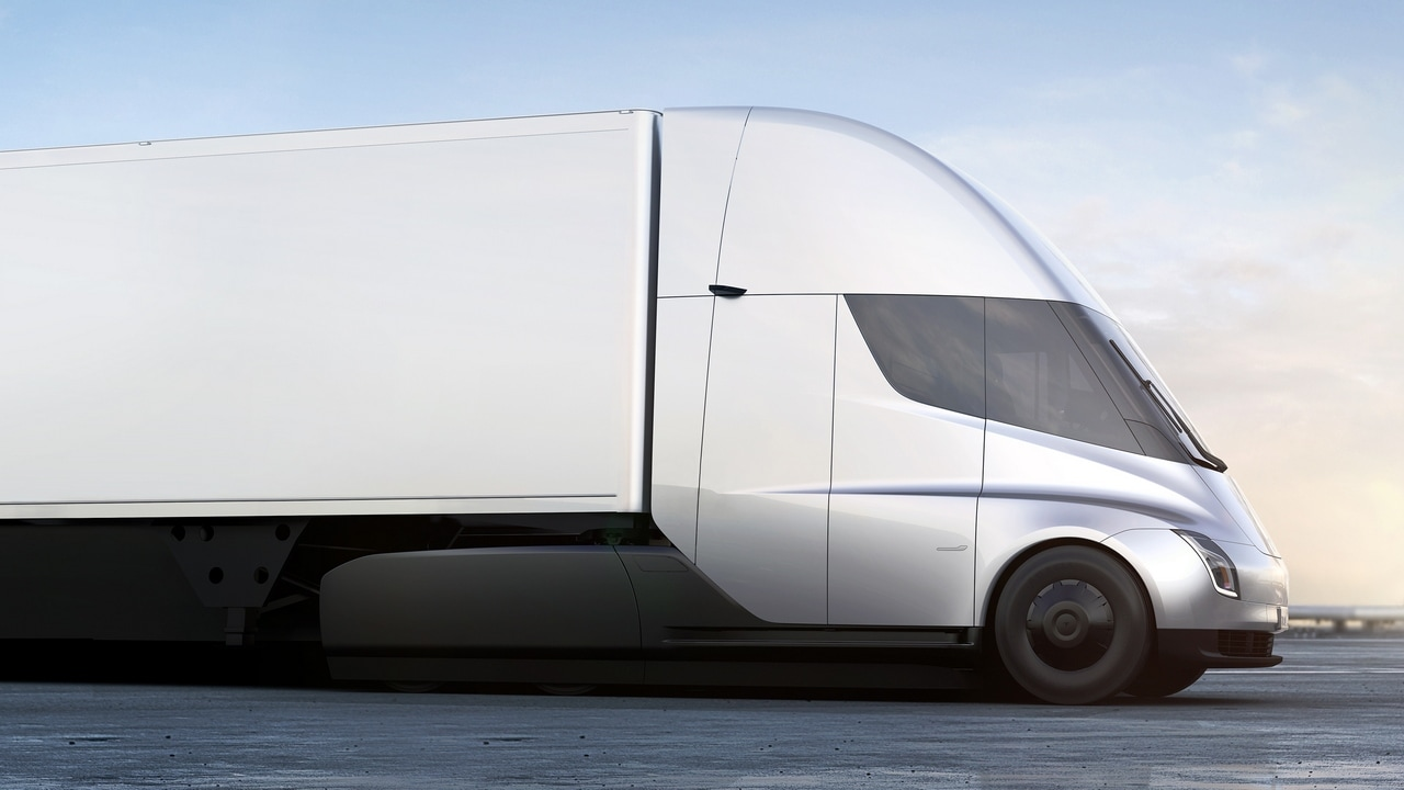 The Tesla Semi truck it climbs 5% grades at a steady 65 mph, whereas a diesel truck maxes out at 45 mph on a 5% grade.