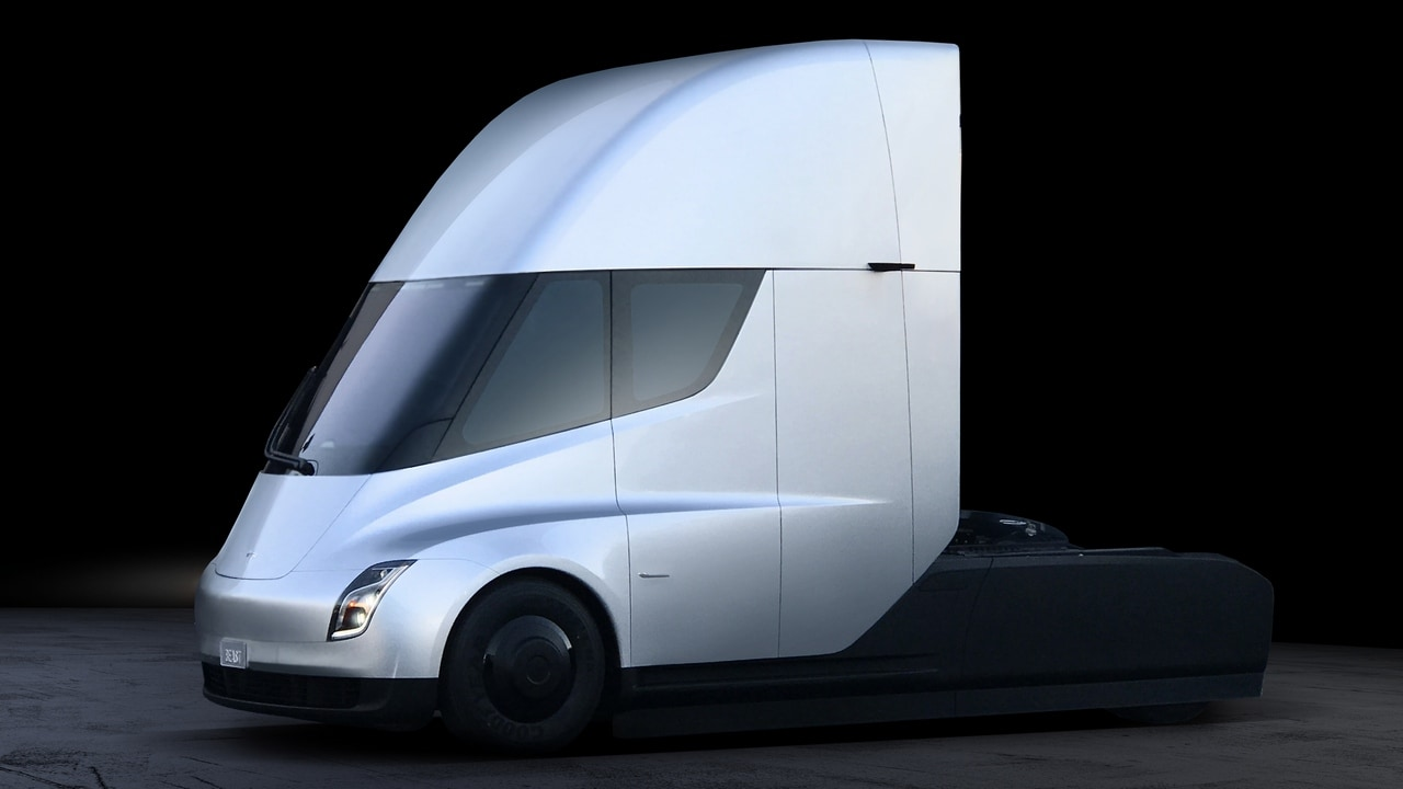 The Tesla Semi requires no shifting in gears for acceleration and deceleration. Its regenerative braking recovers 98% of kinetic energy to the battery, giving it what Tesla claims to be an infinite brake life.