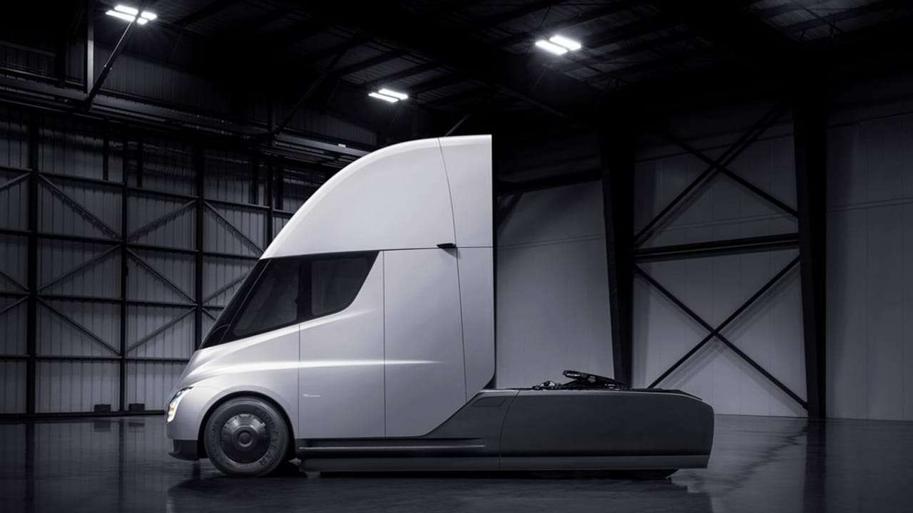 Elon Musk's 1,000 hp Tesla Semi truck just became the second most