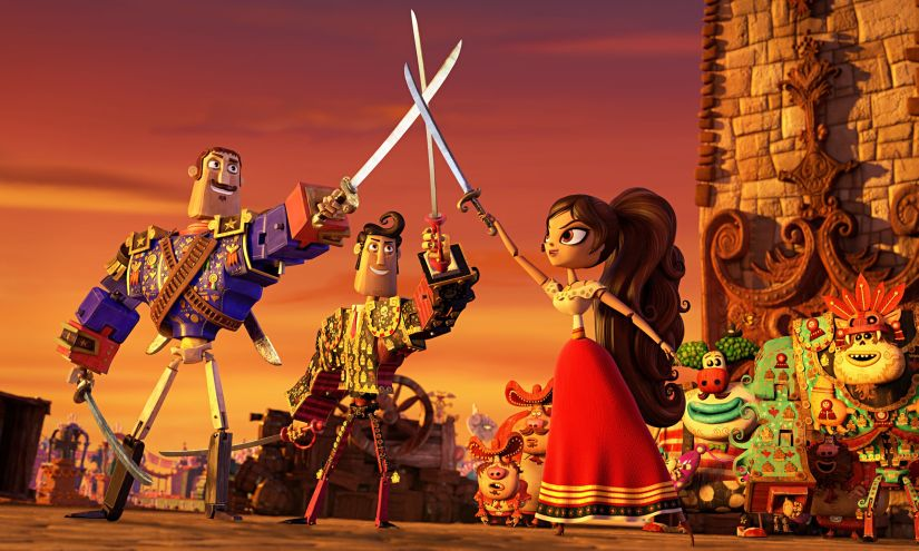 The Book of Life is a story that explores the love triangle between three friends. YouTube