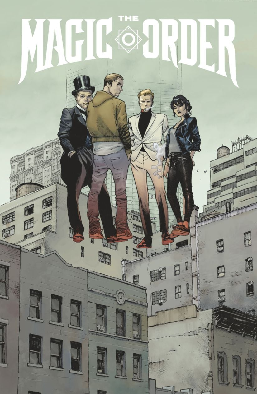 Mark Millar revealed The Magic Order as the first franchise he will create as part of the recent acquisition of Millarworld by Netflix.