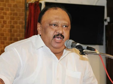 File image of Kerala transport minister Thomas Chandy. News18