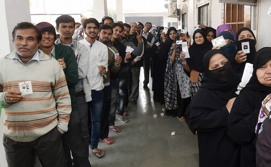 Polling began on Wednesday to elect the Chairman of local bodies in 24 districts of Uttar Pradesh. The mayor of Agra, along with 100 corporators, will also be elected. PTI