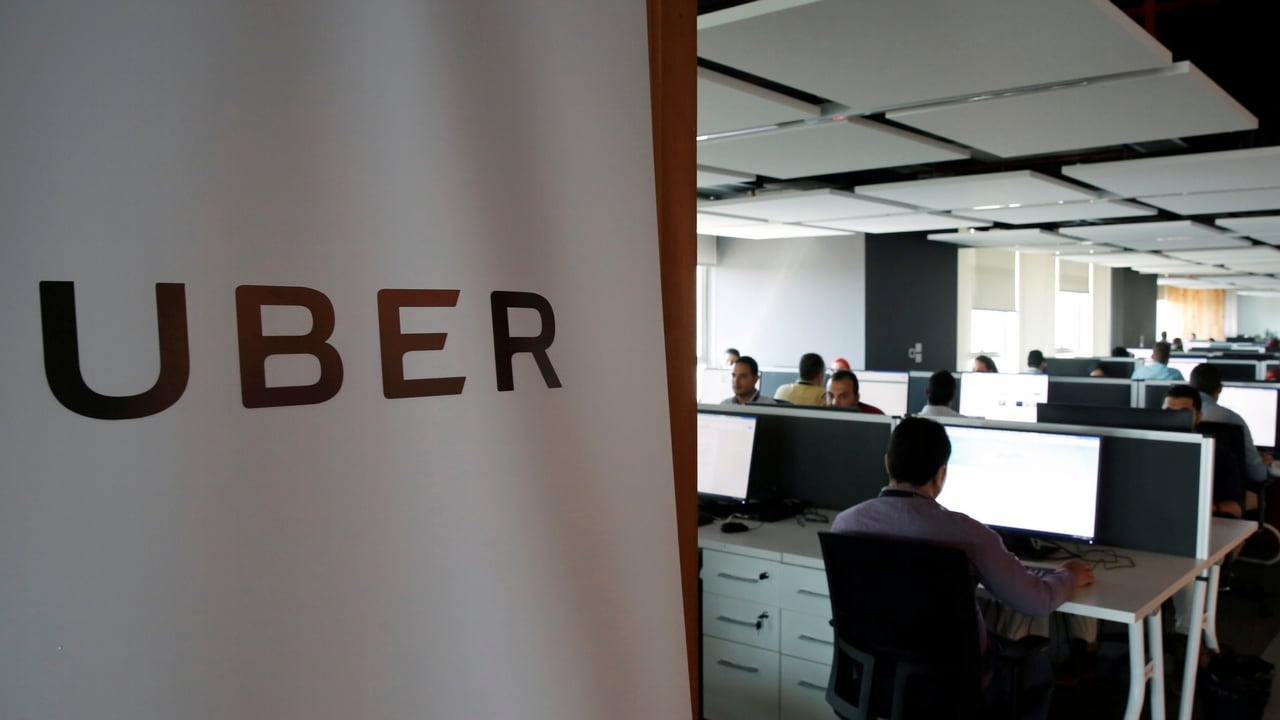 Uber Office. Reuters