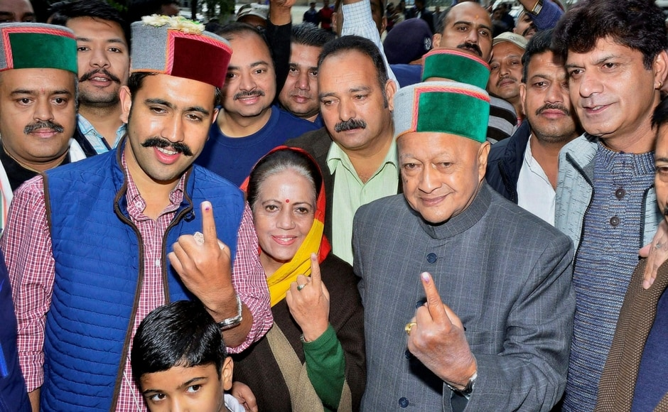 The ruling Congress-led by Virbhadra Singh and the BJP-led Prem Kumar Dhumal are contesting all 68 seats, while the BSP is contesting 42 seats, followed by CPM with 14, Swabhiman and Lok Gathbandhan with six and CPI with three. PTI