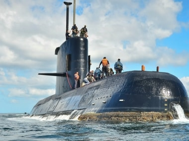 File image of the missing Submarine. AP