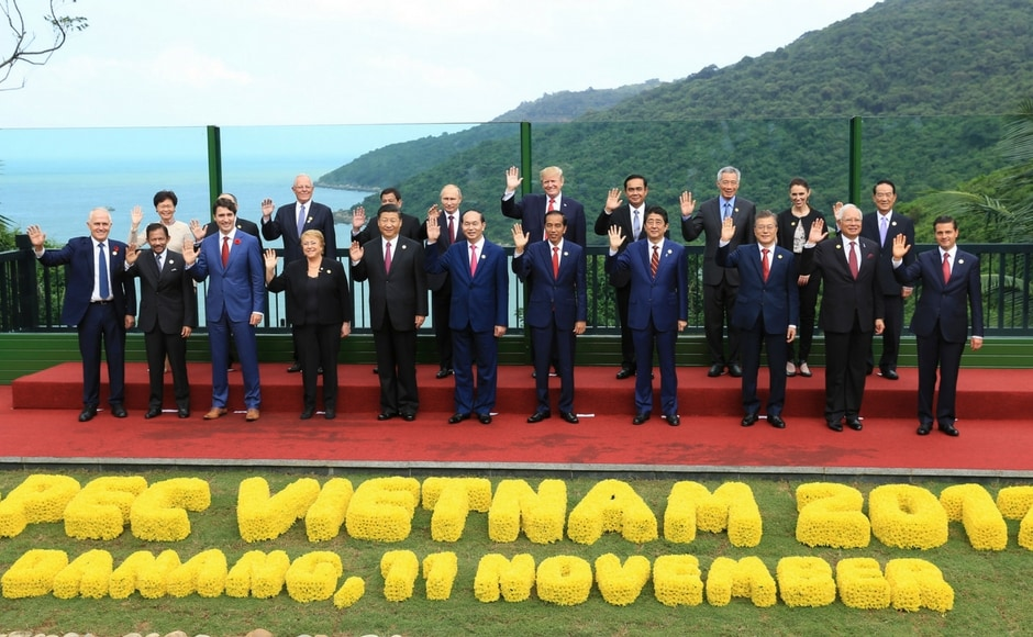 Trade ministers from 11 Asia-Pacific countries agreed to press ahead with a major trade deal on Saturday at APEC Summit in Vietnam without the US which sought to leave under President Donald Trump's 'America First' policy. AP