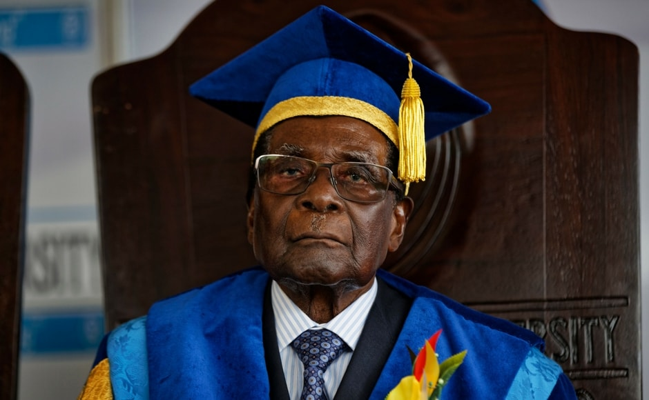 The military is taking pains to show respect for the 93-year-old leader, the world's oldest head of state, by still referring to him still as the president and the commander-in-chief. AP