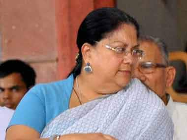 Rajasthan bypoll results a wake up call, says Vasundhara Raje, asks party MLAs not to lose hope