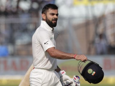 Virat Kohli scored his 18th Test century to help India draw the Test against Sri Lanka. AP