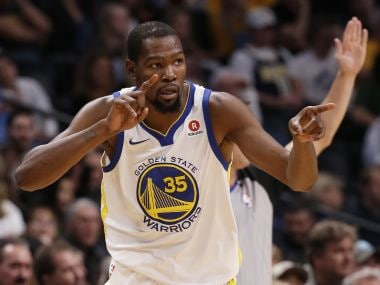 Golden State Warriors' Kevin Durant. AP