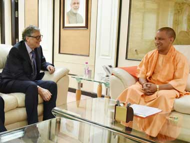 Bill Gates meets Uttar Pradesh CM Yogi Adityanath, agrees to help state tackle encephalitis, child malnutrition