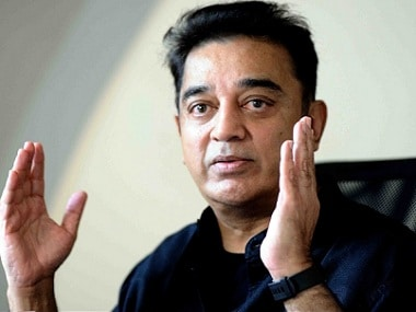 File image of actor Kamal Haasan. PTI