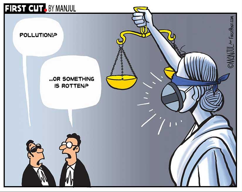 Cartoon by Manjul