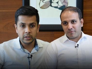 1441 Pizzeria co-founders Krishna Mehta (left) and Istayak Ansari