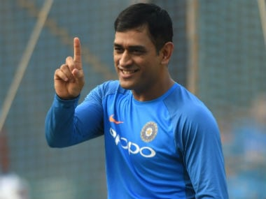 File photo of MS Dhoni. AFP
