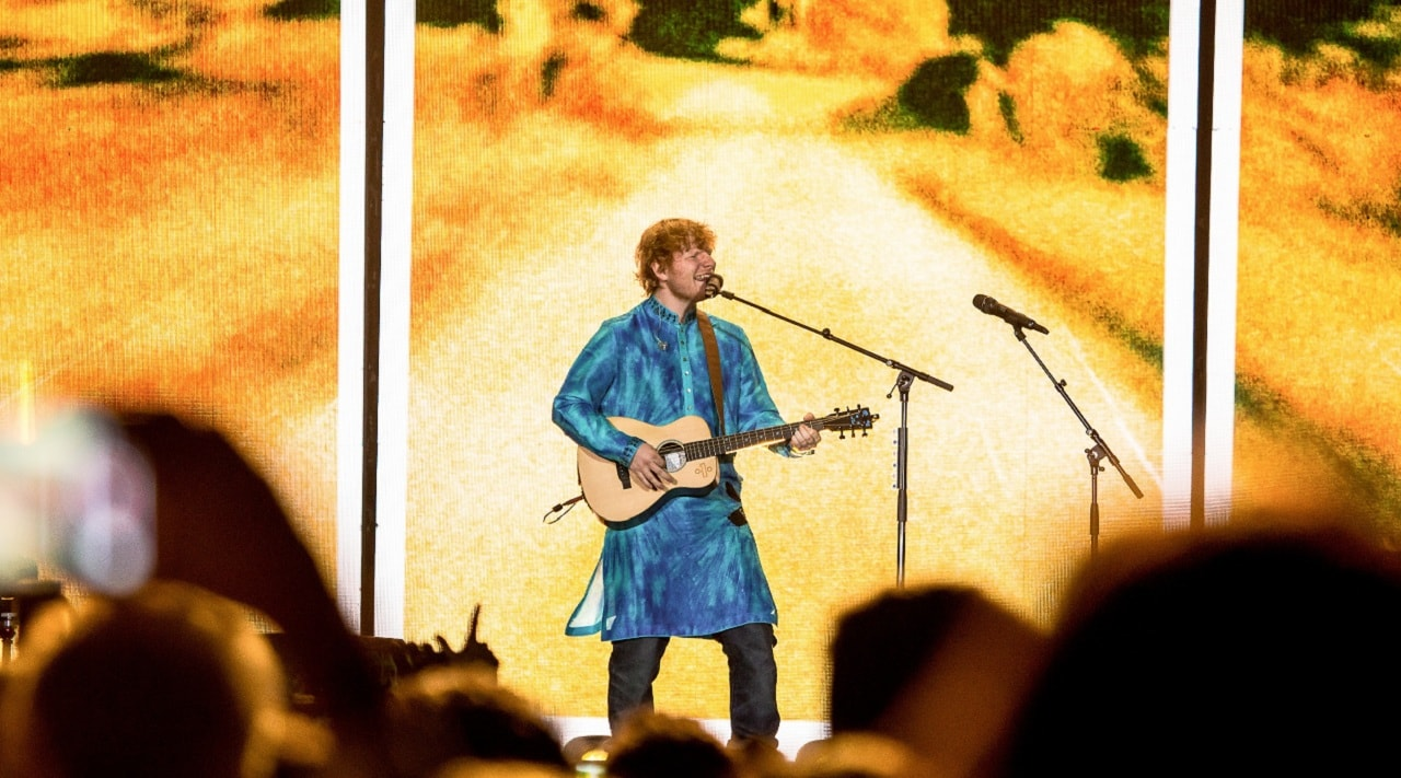 Ed Sheeran is a bad concertgoer, and other things we learned while watching him perform in Mumbai