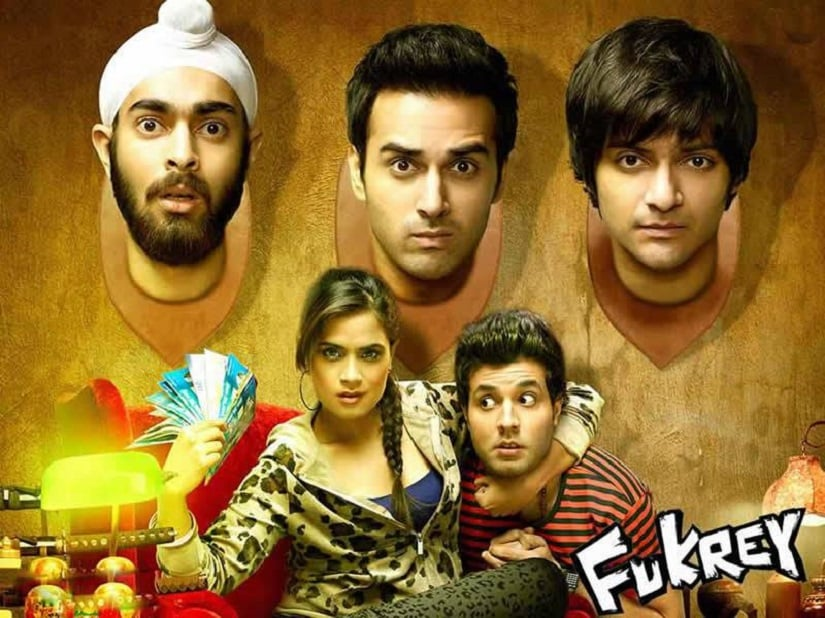 The cast of Fukrey. Image from Facebook/@FukreyReturns