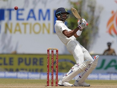 Hardik Pandya had earlier this year made his Test debut against Sri Lanka at Galle. AP
