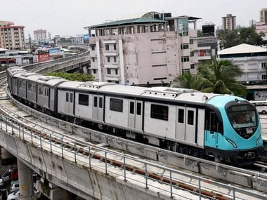 File image of Hyderabad metro. News18