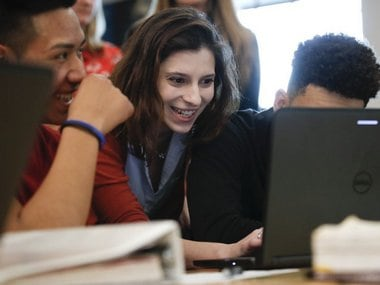 Two female justices from the US Supreme court are helping students learn civics through computer games